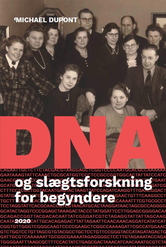 Forsidebillede, bog om DNA og slægtsforskning